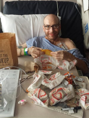 Jake Booth requested Taco Bell tacos when he woke from his 42-day coma. On May 5, he got his wish.