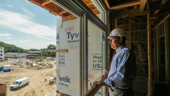 Jim Cohen, president of CMC, overlooks a development project in Loveland in 2015.