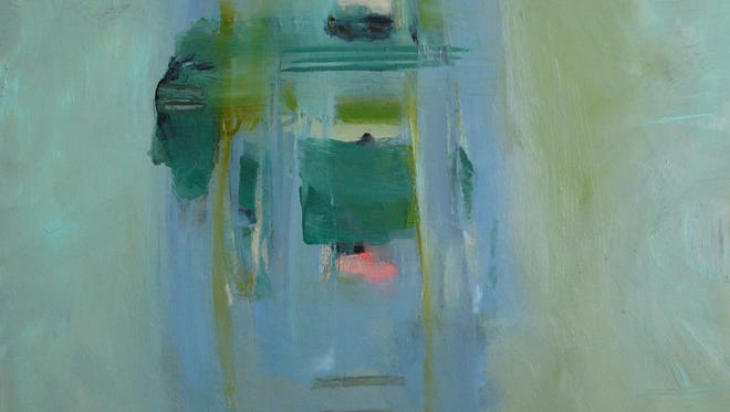 Coquina 1 is a 30 x 36 oil on linen by Hollis Jeffcoat.