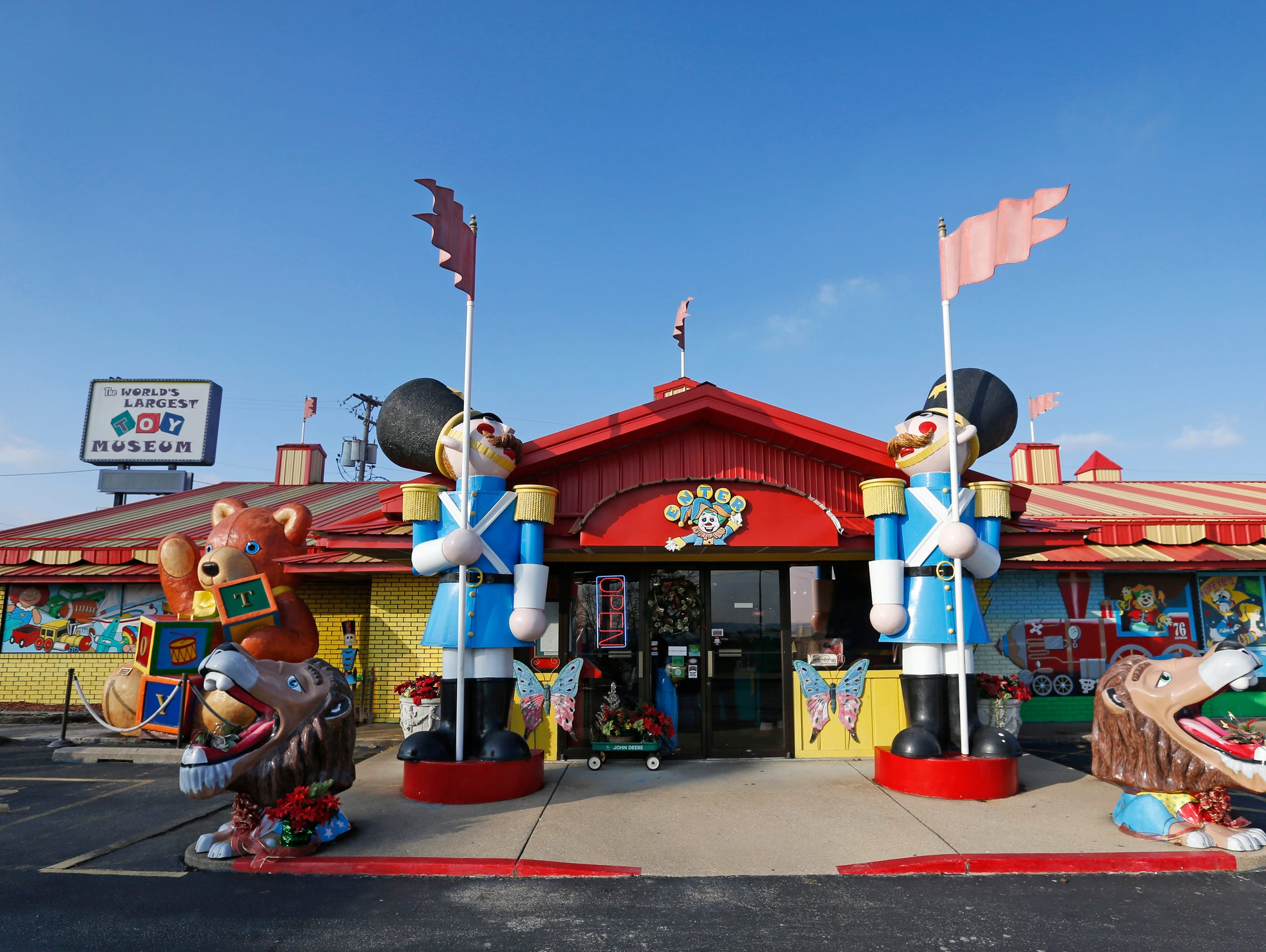 The World's Largest Toy Museum is located at 3609 W