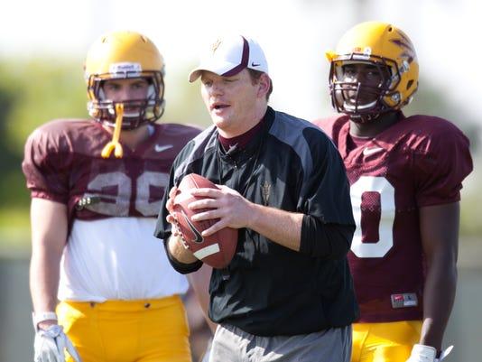 ASU Football Spring Practice 2012