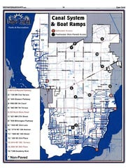 Municipal boat ramp locations in Cape Coral