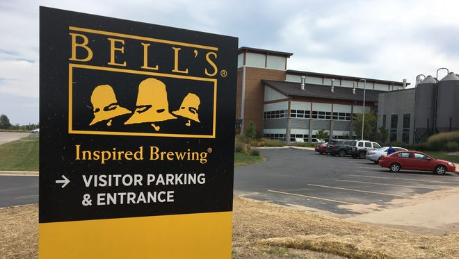 The entrance to Bell's Brewery in Comstock, pictured Sept. 22, 2016.