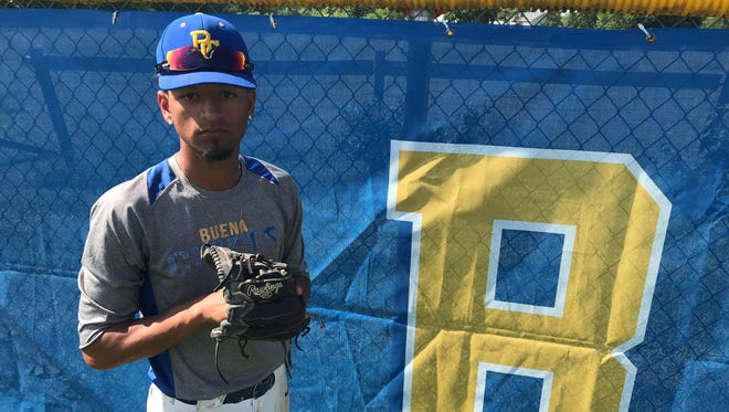 Buena pitcher Matt Johnson threw a complete-game in the Chiefs' 5-2 victory over Haddon Heights in the South Jersey Group 1 quarterfinals on Thursday.