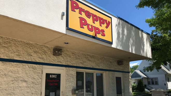 A man stole a dog valued at $1,279 from Preppy Pups, 8301 W. Lincoln Ave., about 6 p.m. Friday, June 1.