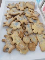 Princess sugar cookies are a must at a birthday tea
