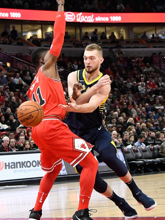 NBA: Indiana Pacers at Chicago Bulls