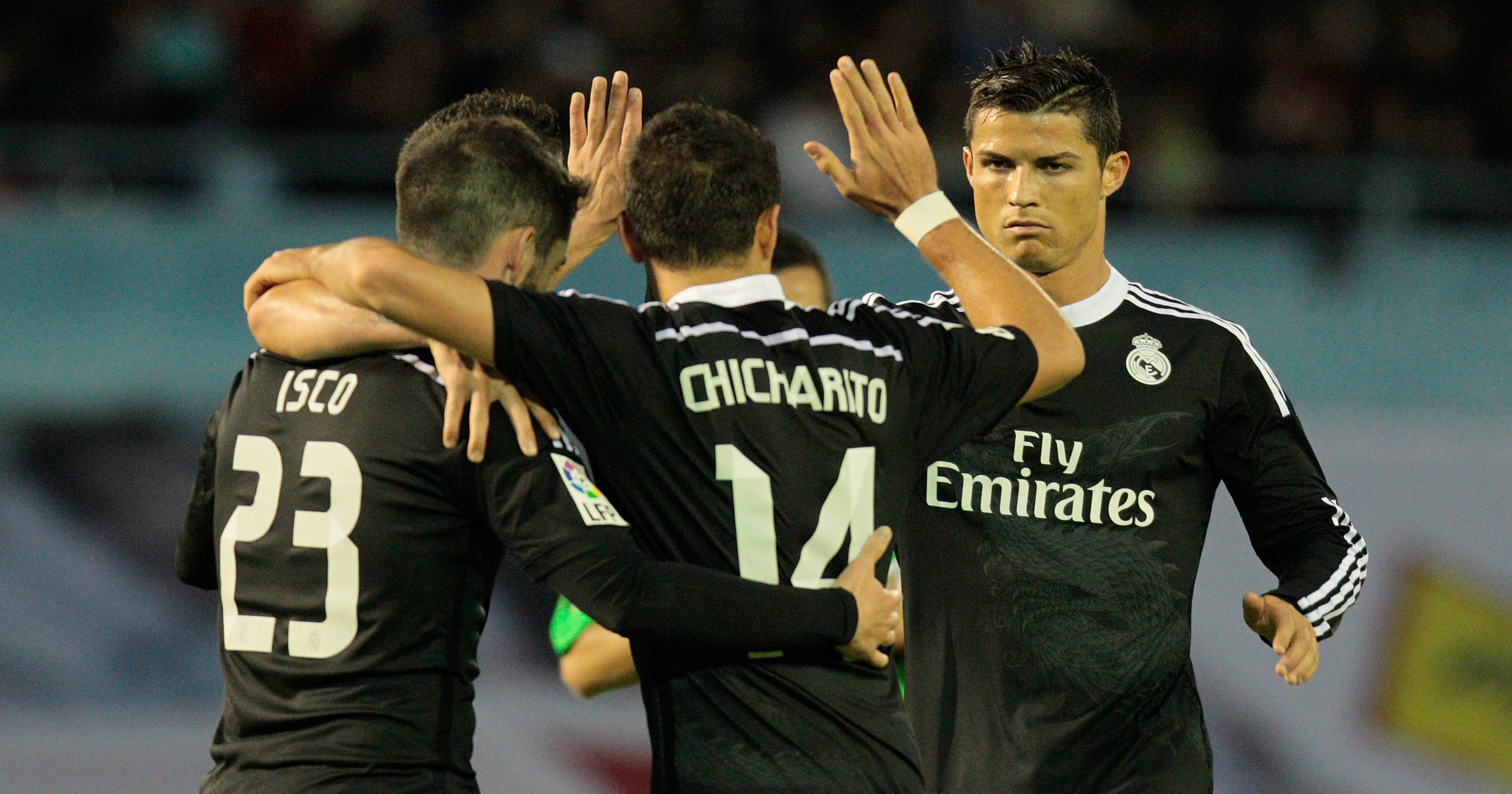 f0c89a59b Madrid wins 4-2 thriller at Celta to stay in title hunt