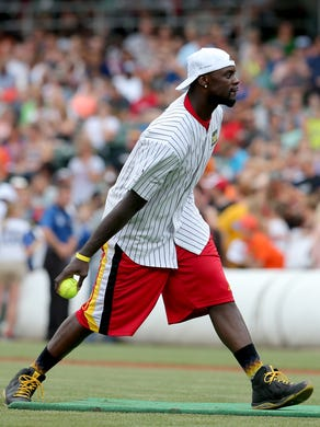 Pacers and Colts on the diamond for 9th celebrity softball ...