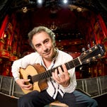 Internationally renowned French-Algerian acoustic guitarist, singer and composer Pierre Bensusan will perform at 7 p.m. Wednesday at Legion Arts (CSPS Hall), 1103 Third St. S.E. in Cedar Rapids, as part of his 40th anniversary world tour.