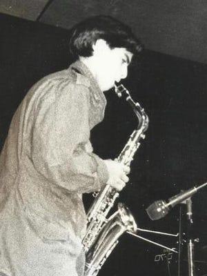 Saxophonist Yale Andrus Abernathy