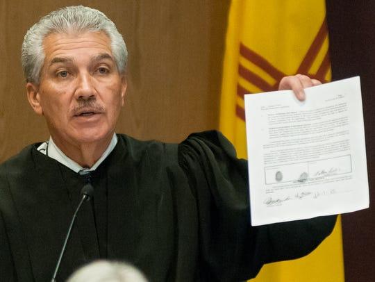 Third Judicial District Court Chief Judge Fernando
