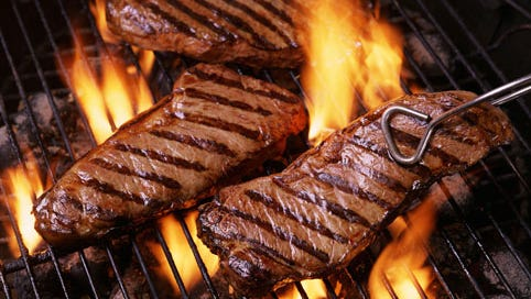 How to grill a great steak.