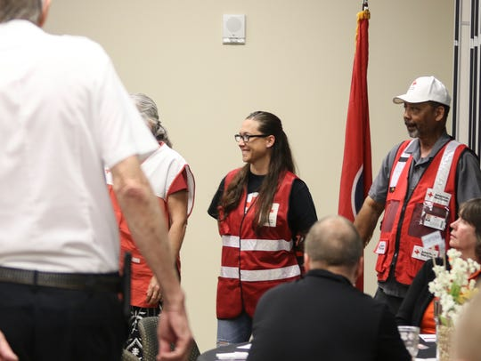The Tennessee River chapter of the Red Cross honored