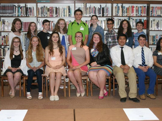 Immaculata High School in Somerville recently hosted a welcome reception for next year's Marian Scholars. In its second year, this program is designed to enhance the academic experience of Immaculata's most gifted students and help position them for admission to the most competitive universities in the nation. On hand to welcome the new group of Marian Scholars were members of the pilot class for the program. To participate as a Marian Scholar one must follow a challenging AP and Honors curriculum, model the four pillars of the school (faith, scholarship, service, and friendship),and participate in several co-curricular enrichment activities and seminars. Key to the Marian Scholars program is a mentor-student relationship. These veteran teachers offer guidance and help the students as they tackle the required independent study seminar.
