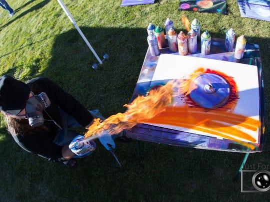 1 Fire Art
