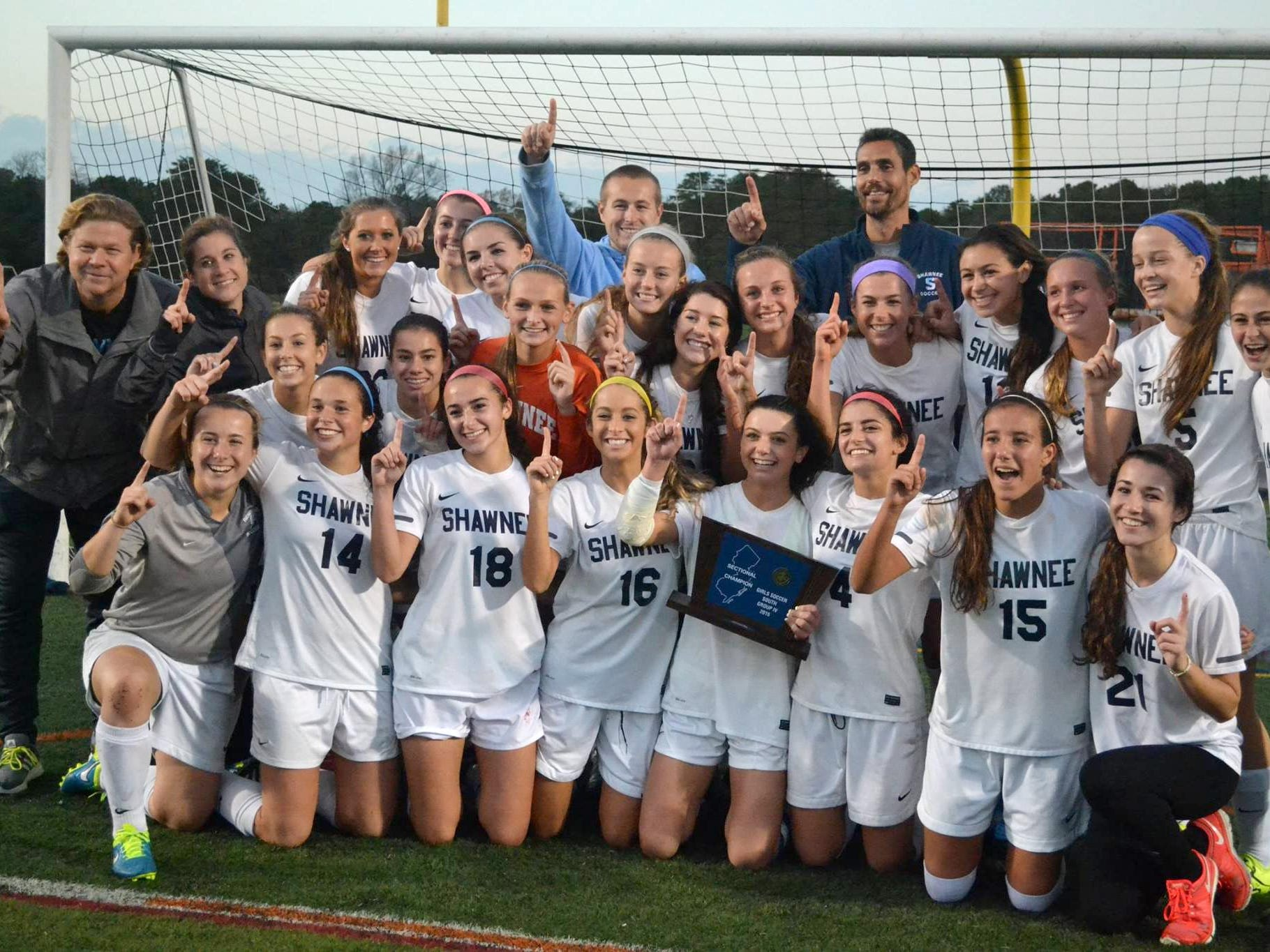 The Shawnee High School girls' soccer team claimed the South Jersey Group 4 title and is the Courier-Post Team of the Year.