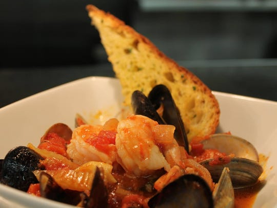 Cioppino, a stew of seafood, will be served during Fish's Feast of the Seven Fishes.