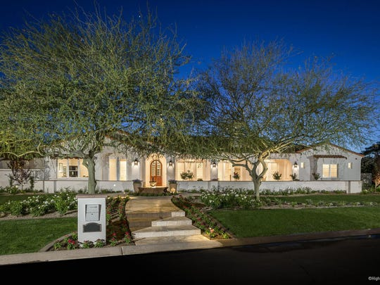 Swimming legend Michael Phelps bought this $2.53 million home in Paradise Valley in 2015.