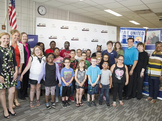 The work of Vision to Learn at five DMPS elementary schools is made possible thanks to support from United Way of Central Iowa, the Community Foundation of Greater Des Moines, and Prevent Blindness Iowa.