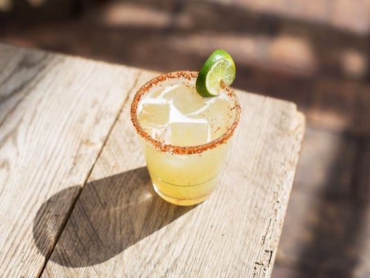 La Madrastra - one of four specialty margaritas served at the Refinery Rooftop in NYC