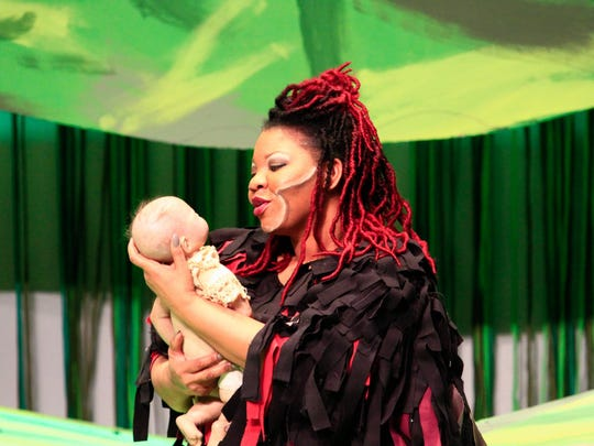 Tarzan's gorilla mother, Kala, is played by Twyla Birdsong,
