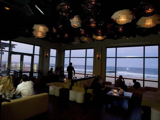 In addition to great happy-hour specials, the Watermark in Asbury Park features breathtaking oceanfront views.