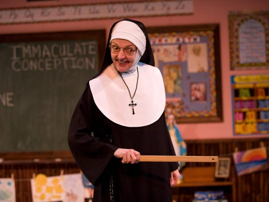 """The international hit comedy """"Late Nite Catechism"""" takes audience members back -- sometimes nostalgically, sometimes fearfully -- to the children they once were."""