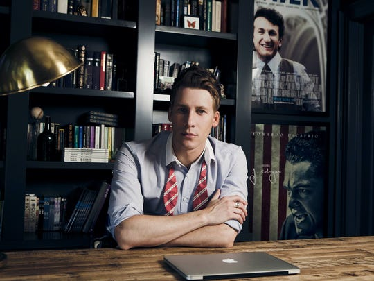 """Dustin Lance Black, who won an Academy Award for writing """"Milk,"""" is the playwright of """"8,"""" playing at the Civic Theatre Oct. 21."""