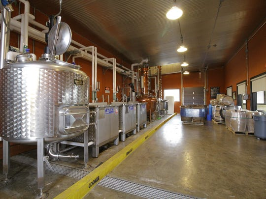 Flavorman has an educational distillery located in their building at 809 S. Eighth St. The distillery is also rented out by client's who use it for experimental test batches.