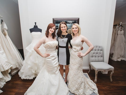 c542833472 Amy Grooms, center, is owner of the Fabulous Frocks bridal boutique, which  recently opened at Meridian Cool Springs. (Photo: SUBMITTED)