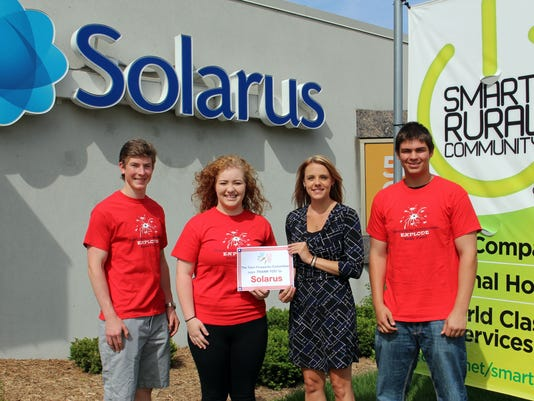 Teen Fireworks Committee thanks Solarus