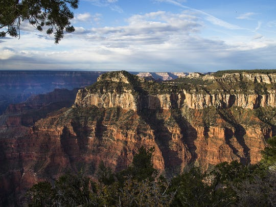 Most of the facilities on the North Rim of the Grand Canyon shut down for winter on Oct. 15. The rim closes every year not because of snow but because of extreme cold.