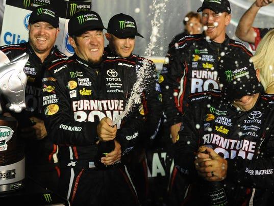 USP NASCAR: QUAKER STATE 400 PRESENTED BY ADVANCE S CAR USA KY
