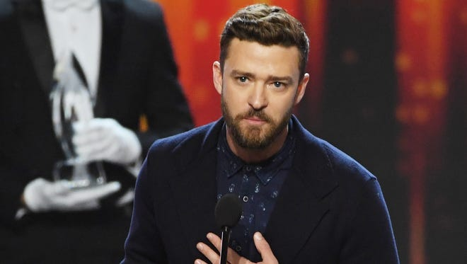 Justin Timberlake points to where his speech got us.