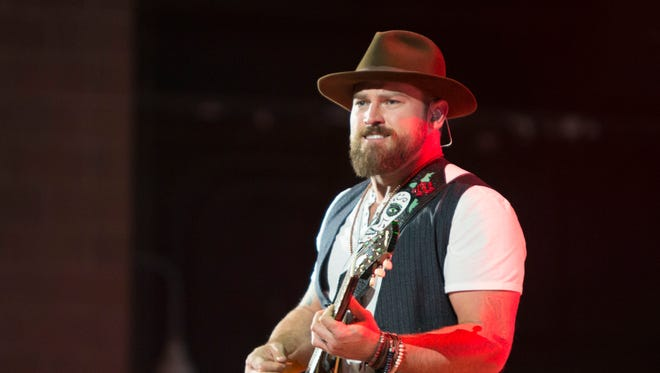 The Zac Brown Band performs at the Ak-Chin Pavilion, Thursday, October 16, 2014, in Phoenix.