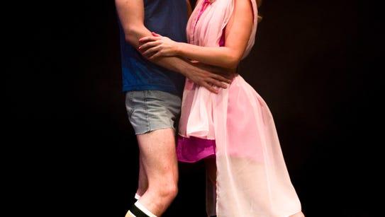 Sonny (Nate McVicker) and Clio/Kira (Justine Rose Stillwell)