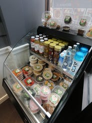 The grab and go case at Ladle of Love on Palmer Avenue