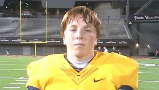 Cincinnati Moeller kicker Matthew Coghlin