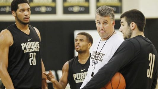 Purdue coach Matt Painter
