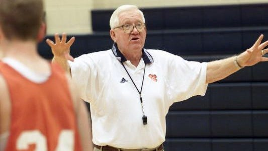 The gym at Stratford will be named in honor of Charlie Anderson, who coached the Spartans from 1961-1969, at a game on Jan. 17..