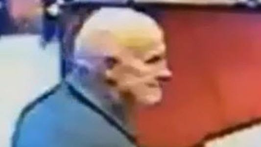 Westland police are seeking this man, whom they believe took a donation box from a Taco Bell on Merriman.