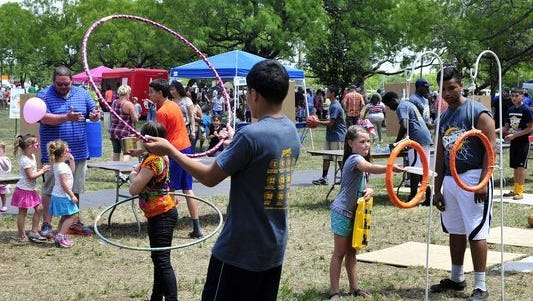 Healthy Families San Angelo's 27th Annual Children's Fair is set for noon to 5 p.m. Sunday, April 23.