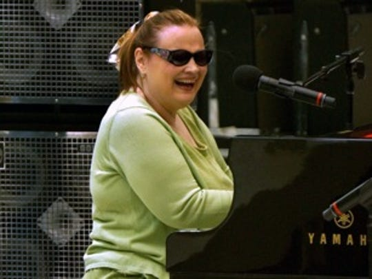 Diane Schuur seen performing at the 2013 Jazz in the Pines Festival.