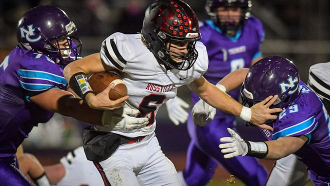Rossville quarterback Torrey Horak has enjoyed a big junior season, rushing for 1,460 yards and 27 touchdowns while throwing for 1,352 yards and 24 more scores. Horak leads No. 1 Rossville into a showdown with No. 2 Hoisington in Saturday's Class 2A state championship game in Salina.