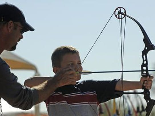 The archery classes are available at 8 a.m. and 1 p.m. at Lake Pleasant Park.
