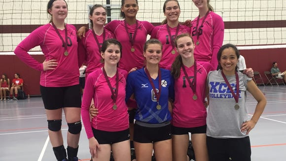 The Xcel Volleyball Performance 15X Select team.