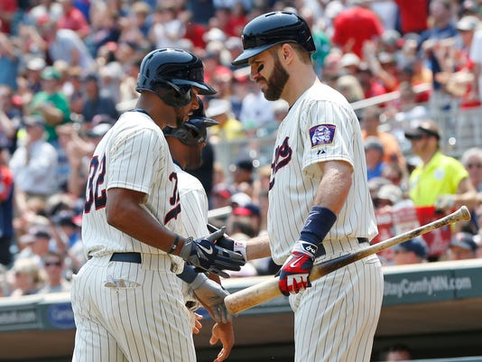 Aaron Hicks, Joe Mauer