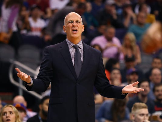 NBA: New Orleans Pelicans at Phoenix Suns