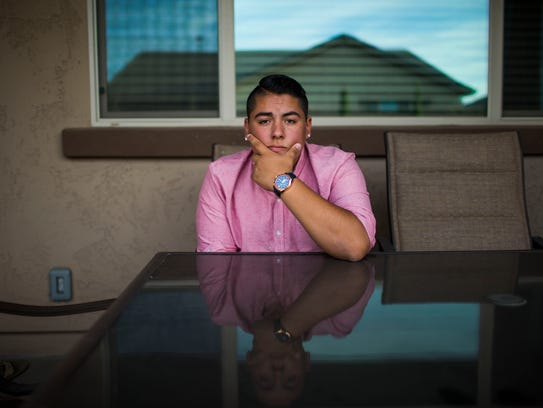 ASU student Andrew Sanchez of Gilbert started his own